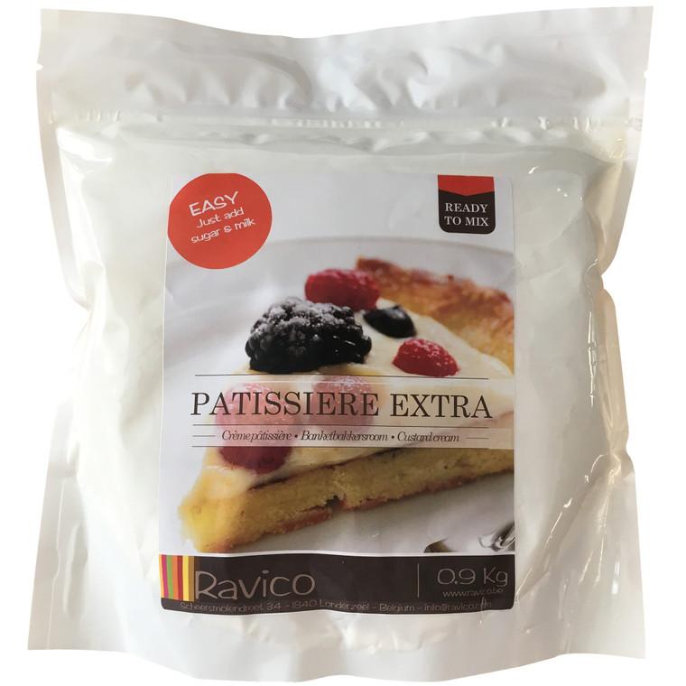 Ravico Patisserie Extra Pastry Cream Powder - 1x900g