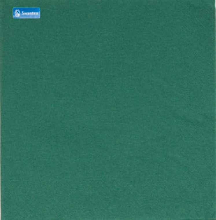 Swantex 2 Ply Mountain Pine Green Napkins 33cm - 1x100