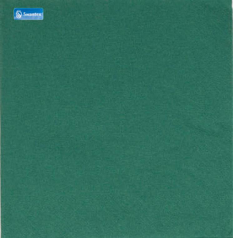 Swantex 2 Ply Mountain Pine Green Napkins 33cm - 20x100