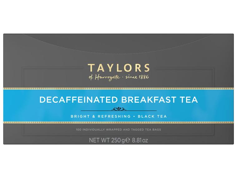 Taylors Of Harrogate Decaffeinated Enveloped Tea Bags - 1x100