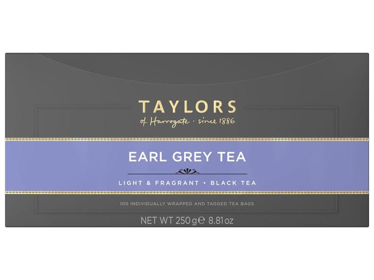 Taylors Of Harrogate Earl Grey Enveloped Tea Bags - 1x100