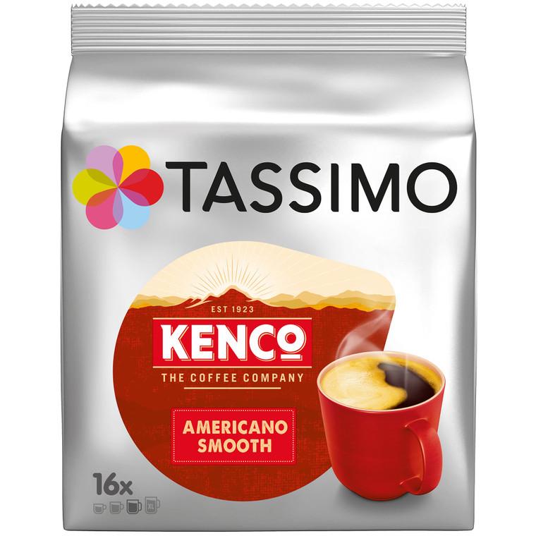 Kenco Tassimo Americano Smooth Coffee - 5x16x128g