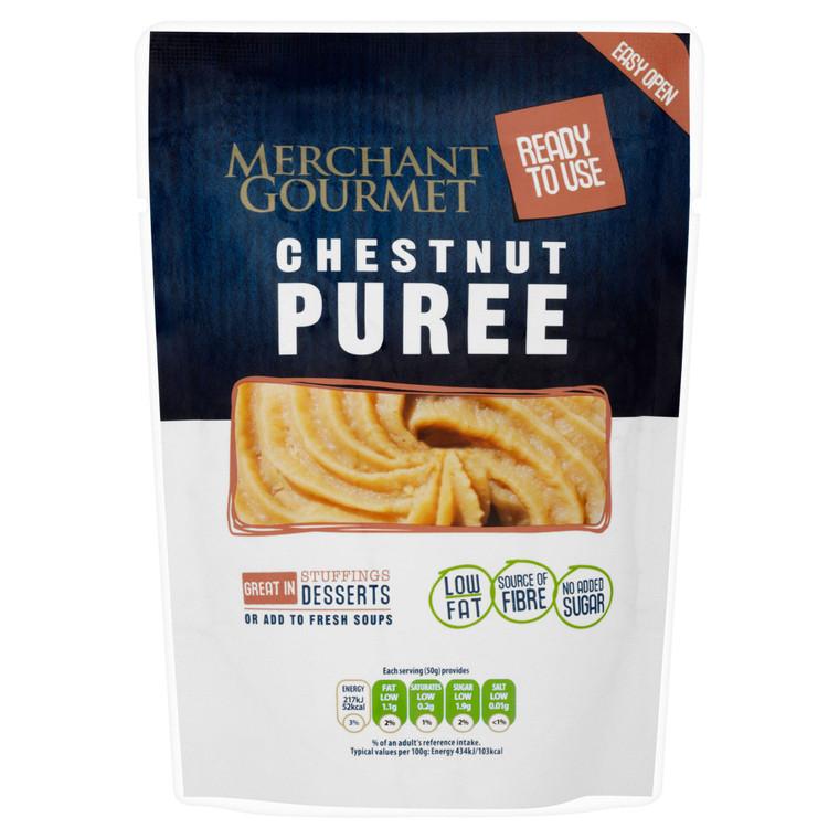 Merchant Gourmet Ready To Use Chestnut Puree - 6x200g