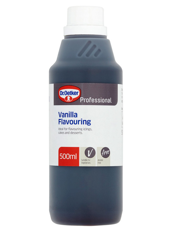 Dr. Oetker Professional Vanilla Flavouring - 1x500ml