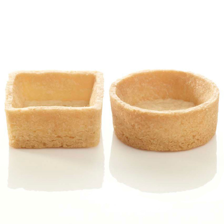 Pidy Mini Round & Square Assorted Neutral Trendy Shells - 1x96