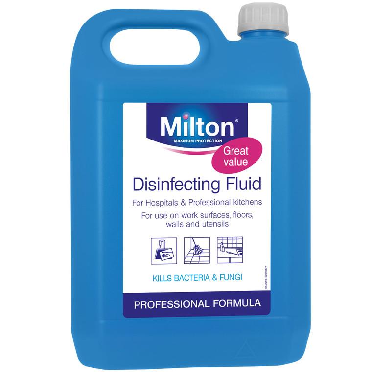 Milton Professional Disinfecting Liquid - 1x5ltr