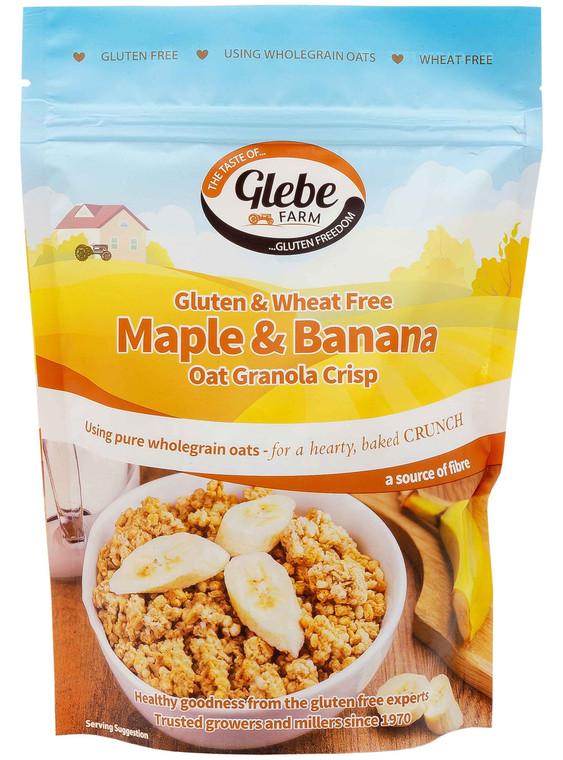 Glebe Farm Gluten Free Maple & Banana Oat Granola - 6x325g