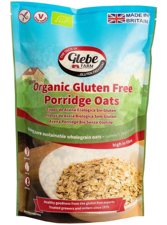 Glebe Farm Organic Gluten Free Porridge Oats - 6x450g
