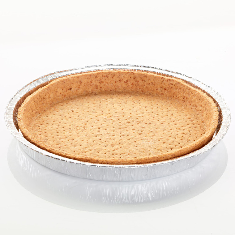Pidy Large Wholemeal Quiche Cases 22cm in Foil Tray - 1x6
