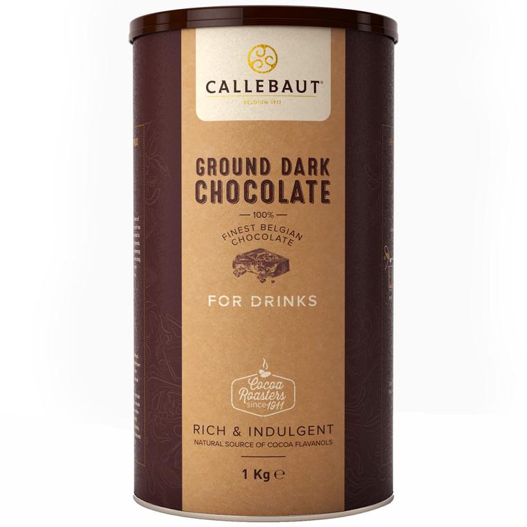 Callebaut Ground Dark Chocolate For Drinks - 6x1kg