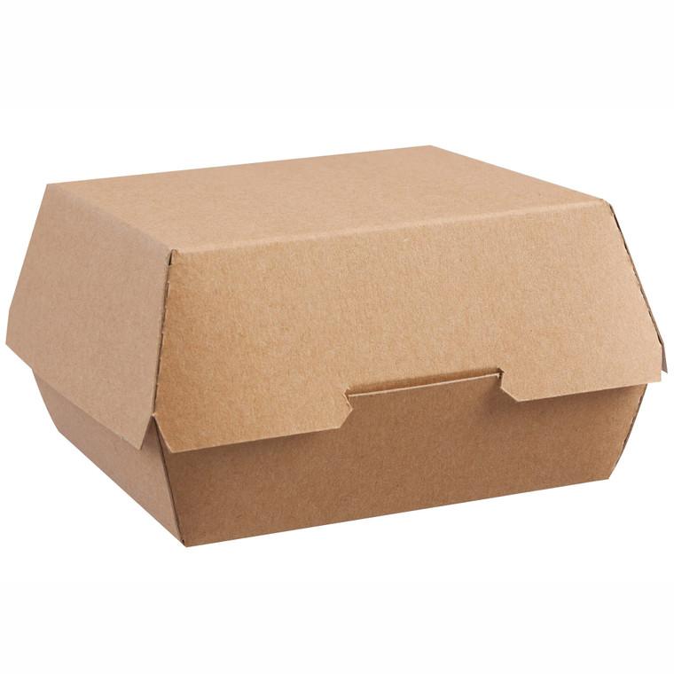 ColPac Large Kraft Clamshell Box - 1x250