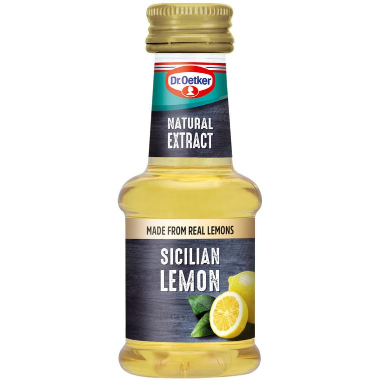 Dr Oetker Sicilian Lemon Extract - 6x35ml