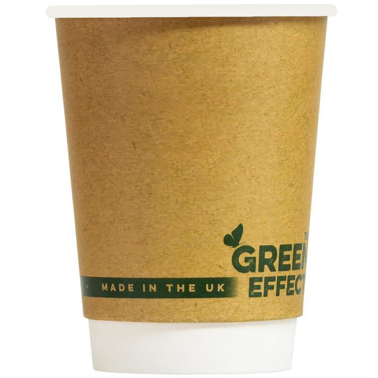 Green Effect Kraft Recyclable Cups 16oz - 1x500