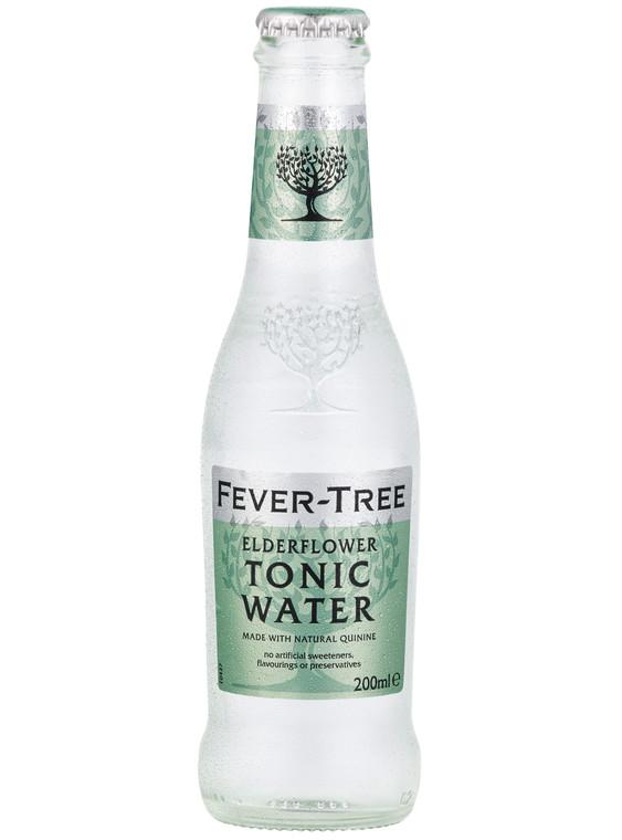 Fever Tree Premium Elderflower Tonic Water - 24x200ml