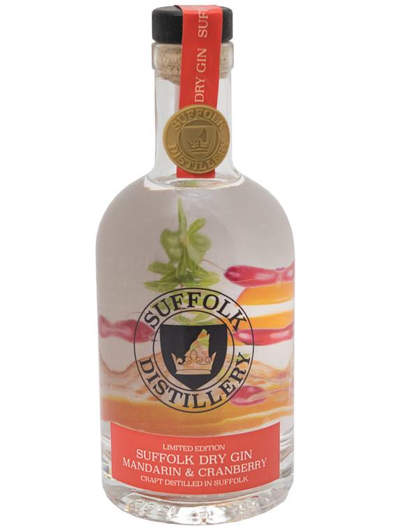 Suffolk Distillery Dry Mandarin & Cranberry Gin 43% - 1x35cl