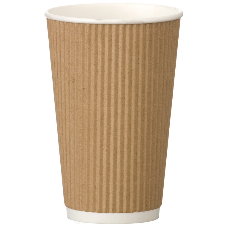 Kraft Ripple Cup 16oz - 1x500