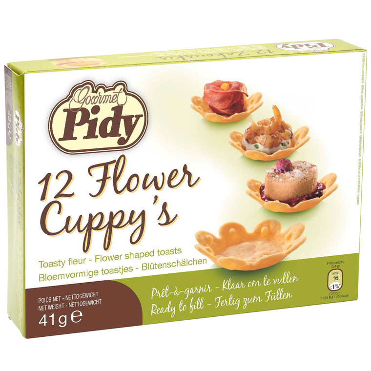 Pidy Flower Cuppys 5cm - 1x12