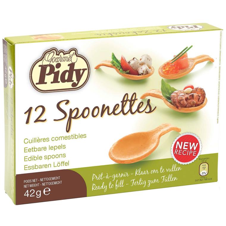 Pidy Pastry Spoonettes 7.5cm - 16x12
