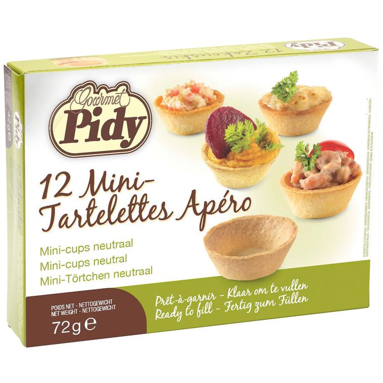 Pidy Mini Tartlettes Apero Cups 4cm - 1x12