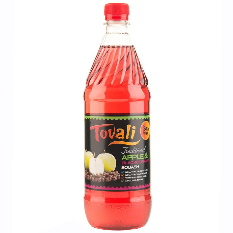 Tovali Sugar Free Diabetic Apple & Blackcurrant Squash - 12x1ltr