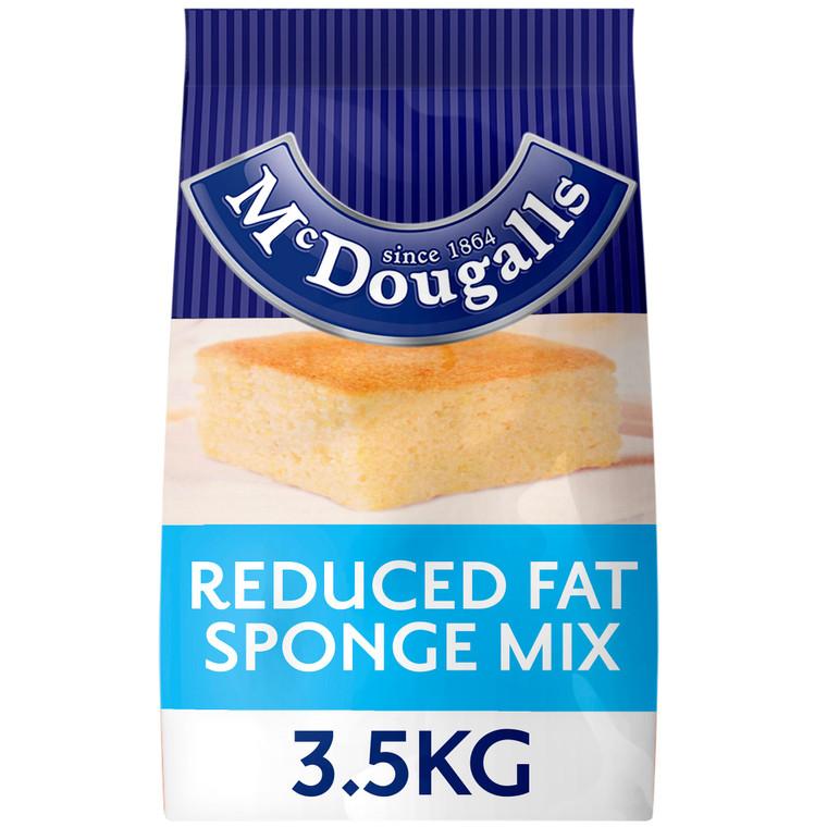 McDougalls Reduced Fat Sponge Cake Mix - 1x3.5kg