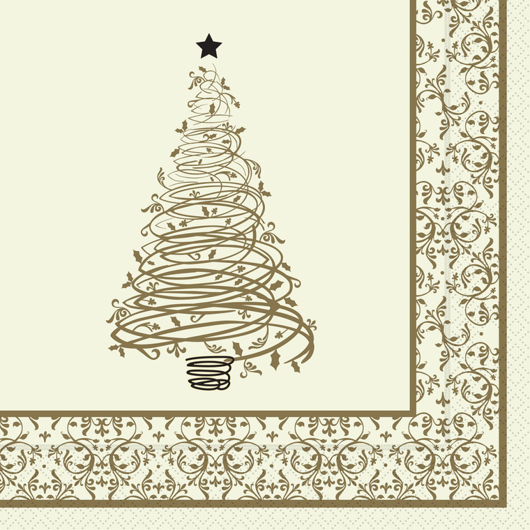 Christmas Winter Wonderland 3 Ply Napkin 40cm - 1x100x40cm