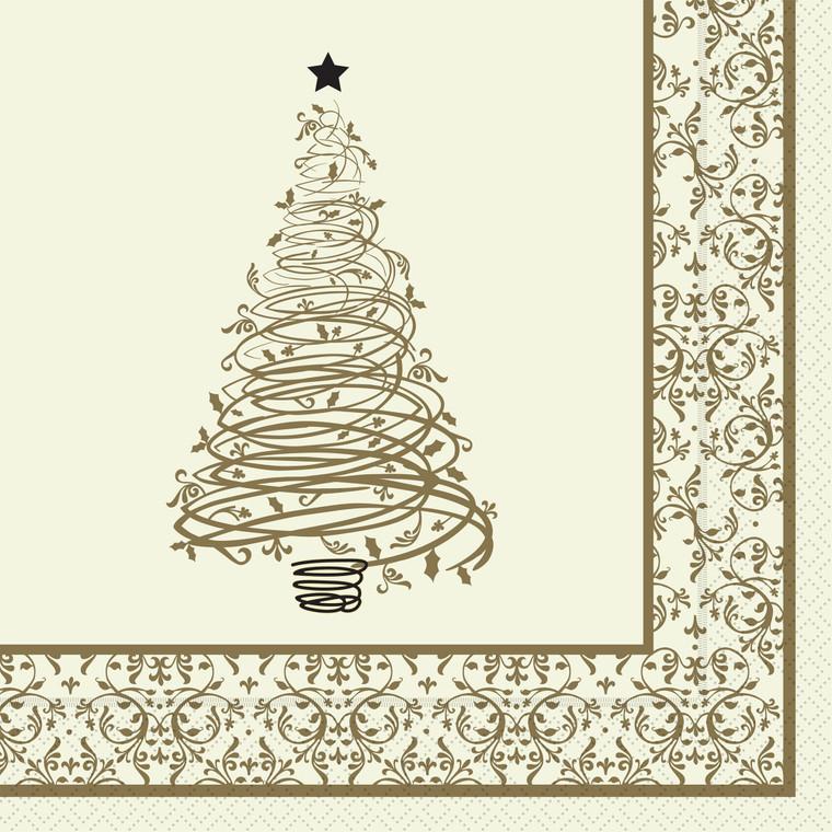 Christmas Winter Wonderland 3 Ply Napkin 40cm - 6x100x40cm