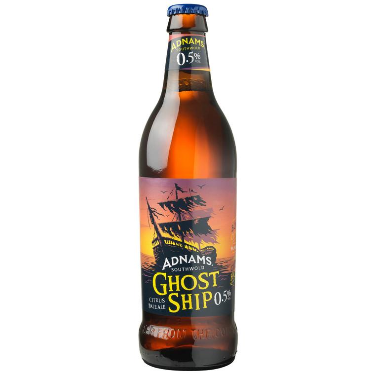 Adnams Alcohol Free Ghost Ship Pale Ale 0.5% - 8x500ml