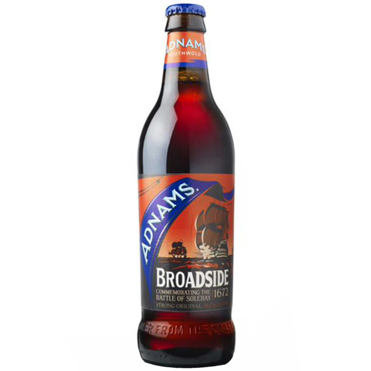 Adnams Broadside Ale 6.3% - 12x500ml