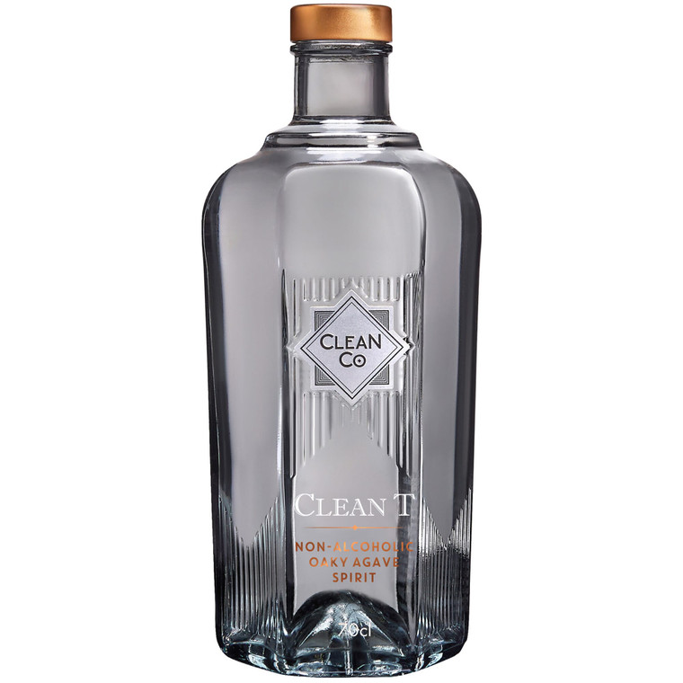 Clean T Non Alcoholic Oaky Agave Spirit - 1x700ml