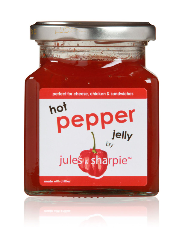 Jules and Sharpie Hot Pepper Jelly - 6x300g