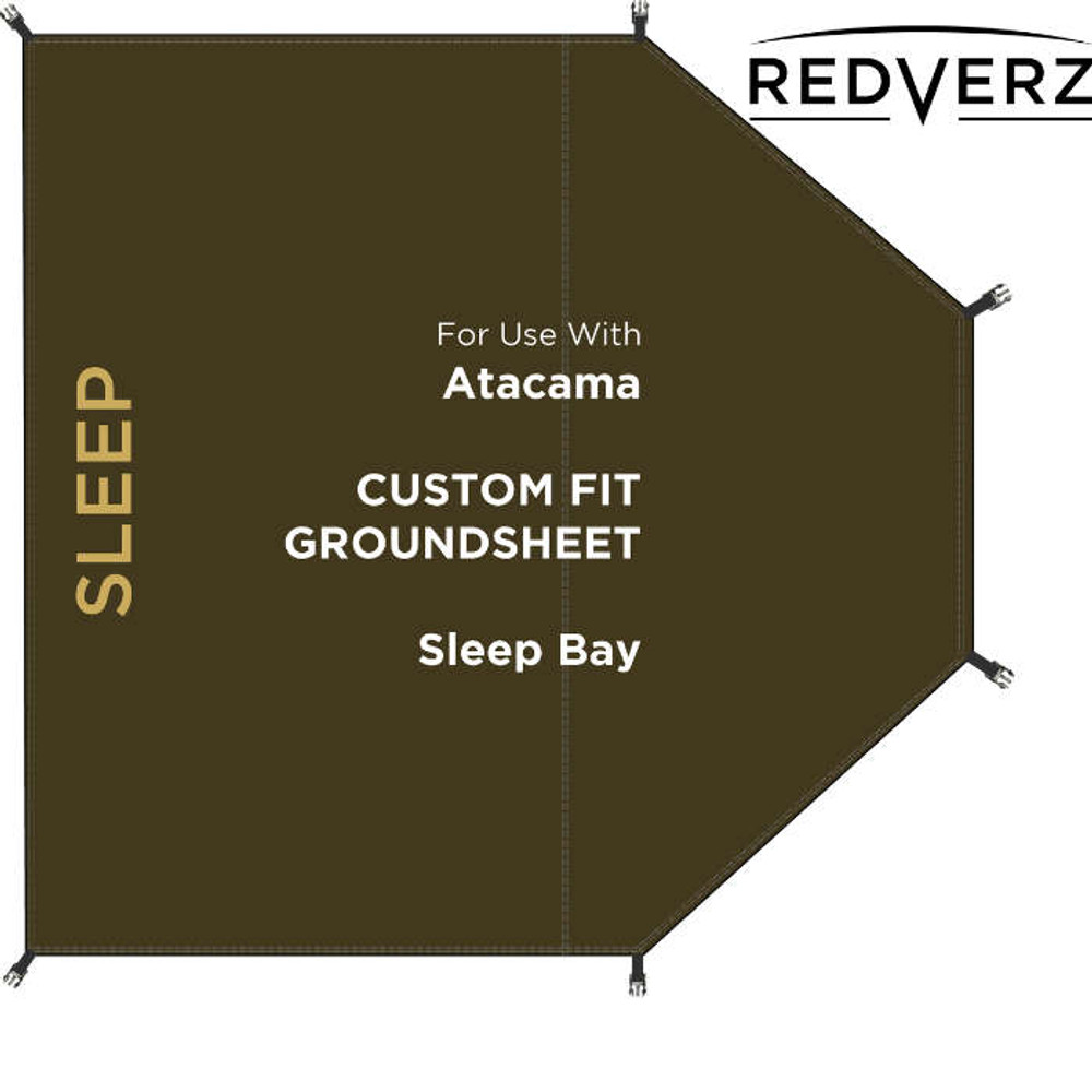 Redverz Atacama Groundsheet | Sleeping Bay