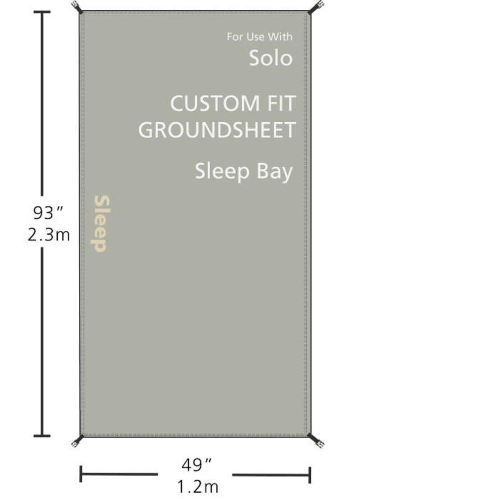 Redverz Solo Groundsheet | Sleeping Bay