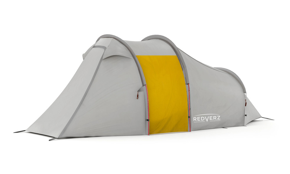 Redverz Atacama Expedition Motorcycle Tent Grey/Yellow