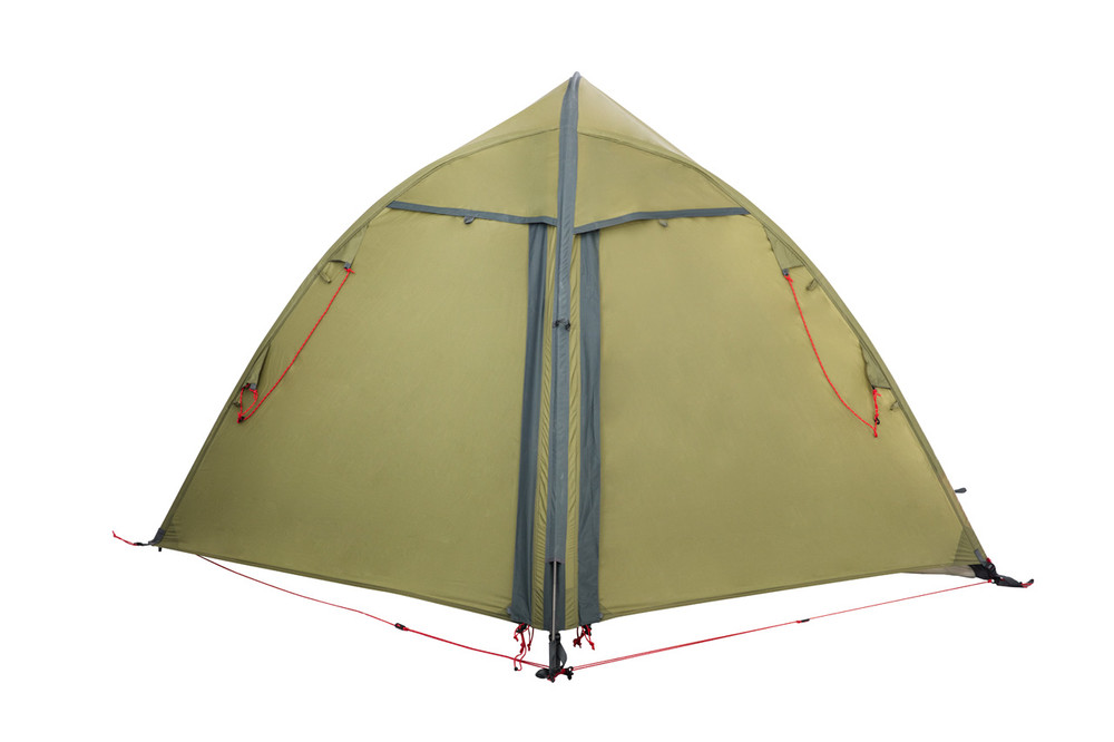 Completely closed Hawk II Tent view.