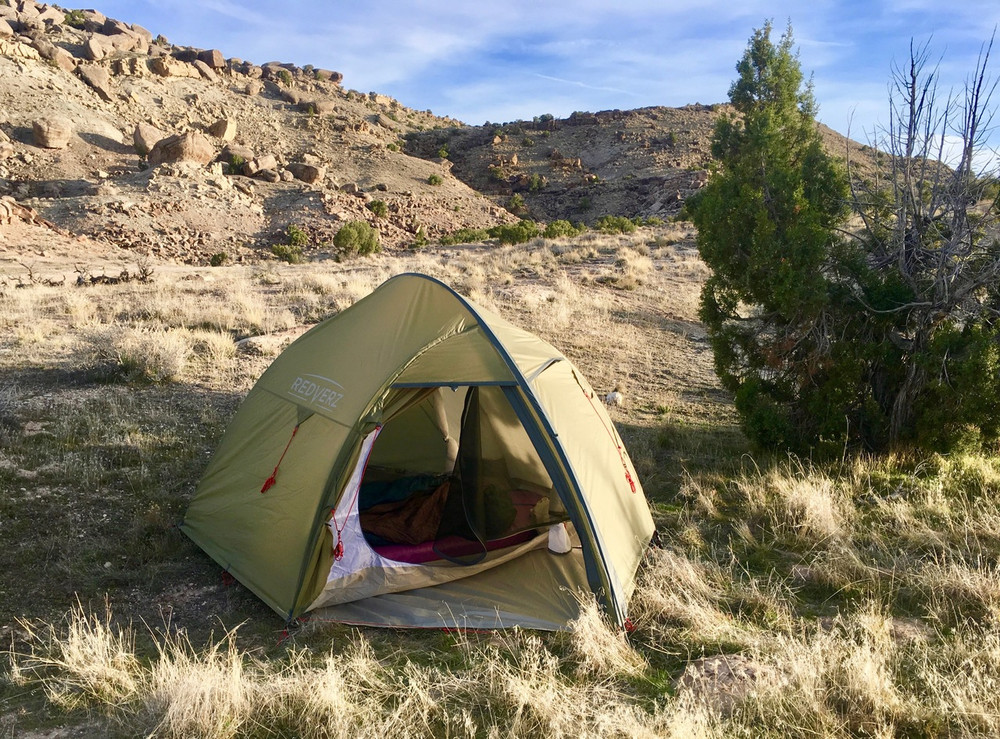 The Redverz Hawk II mountaineering Tent in Colorado.