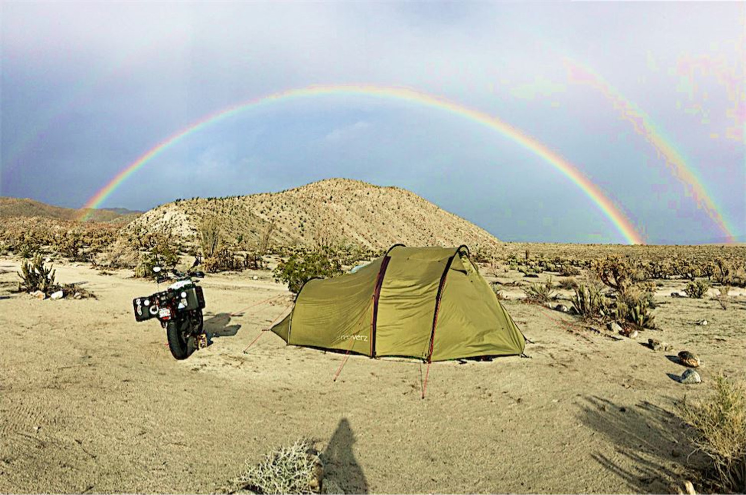 Retired and On The Road - Sphene and Joon with more than 125 nights in the Atacama