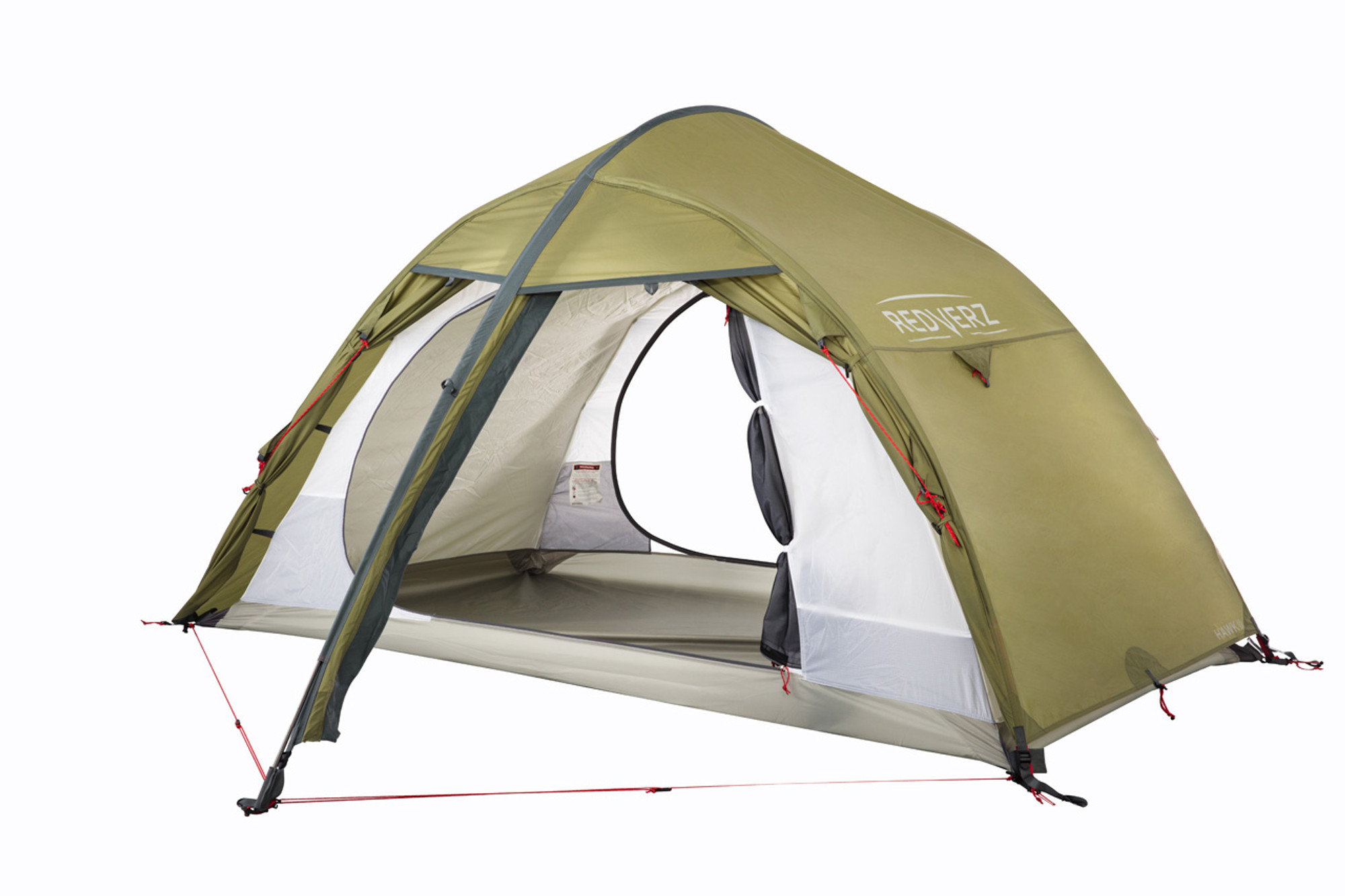 The Hawk II Mountaineering Tent from Redverz Gear. Shown with vestibule doors completely open and ...  sc 1 st  Redverz Gear & Redverz Hawk II Mountaineering Tent - A 4 Season 2 Person ...