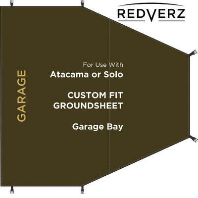 Redverz Garage Bay Groundsheet ( Fits Atacama and Solo)