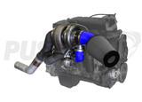 Pusher High Mount Compound Turbo System for 2007.5-2009 Dodge Ram 6.7L Cummins Trucks