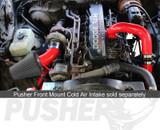 Pusher Pre and Post Intercooler Intake System for 1991.5-1993 Dodge Cummins 12v