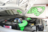 Pusher Low Mount Compound Turbo System for 1994-1998 Dodge Cummins 12v Trucks