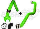 Pusher SuperMax Intake System and HD Driver-side Charge Tube for 2004.5-2005 Duramax LLY Trucks