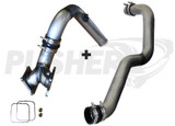 """Pusher SuperMax Intake System & Pusher Max 3"""" Driver-side Charge Tube for 2006-2010 Duramax LBZ/LMM Trucks"""