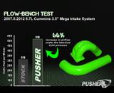 "Pusher 3.5"" MEGA Intake System with Passenger Side Intercooler Tube for 2010-2012 Dodge Cummins"