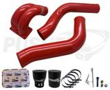 """Pusher 3.5"""" MEGA Intake System with Passenger-Side Intercooler Tube for 2013-2018 Ram Cummins"""