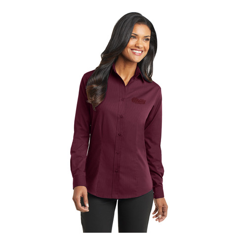 Ladies Tonal Pattern Easy Care