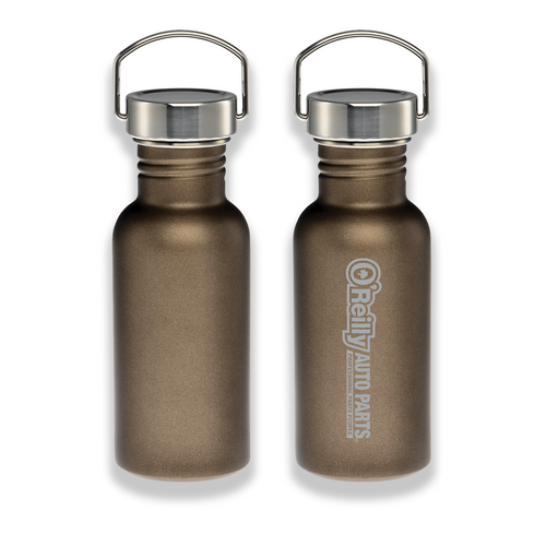 18 oz. Stainless Bottle - Brown