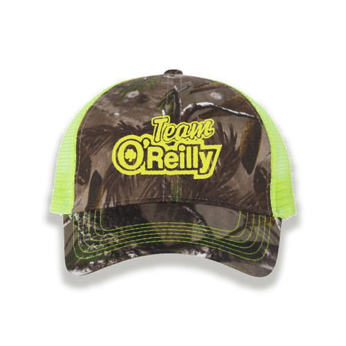 Neon Yellow Realtree AP Camo Cap
