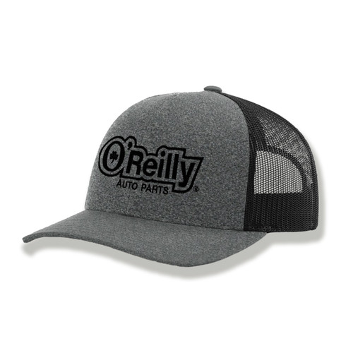 Heather/Black Low Pro Trucker Cap